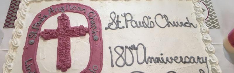 180th Anniversary