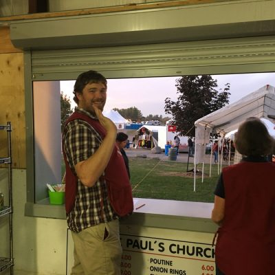 St. Paul's at the Food Booth