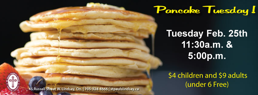 Pankcake Tuesday at St. Paul's
