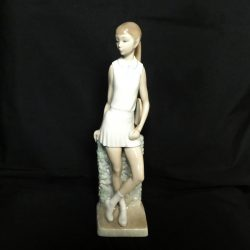 Lladro Figurine, The Tennis Player