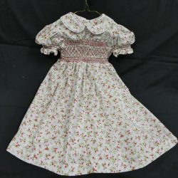 Hand-smocked Flowered Child's Dress