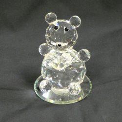 Swarovski Glass Bear