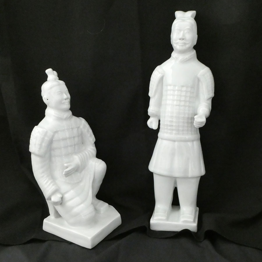 Ceramic Terracotta Style Warriors