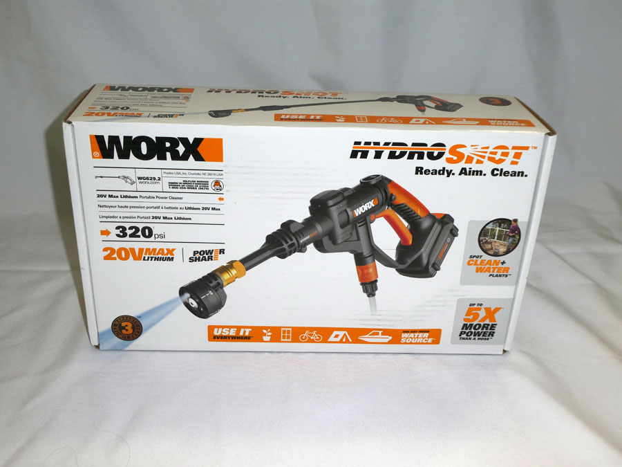 Hydro Shot Power Washer