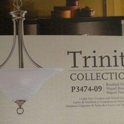 Trinity Collection 3 Light Foyer Pendant