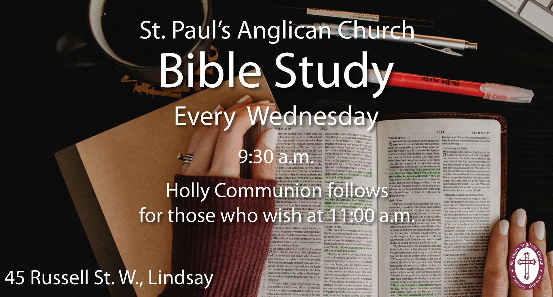 Bible Study at St. Paul's