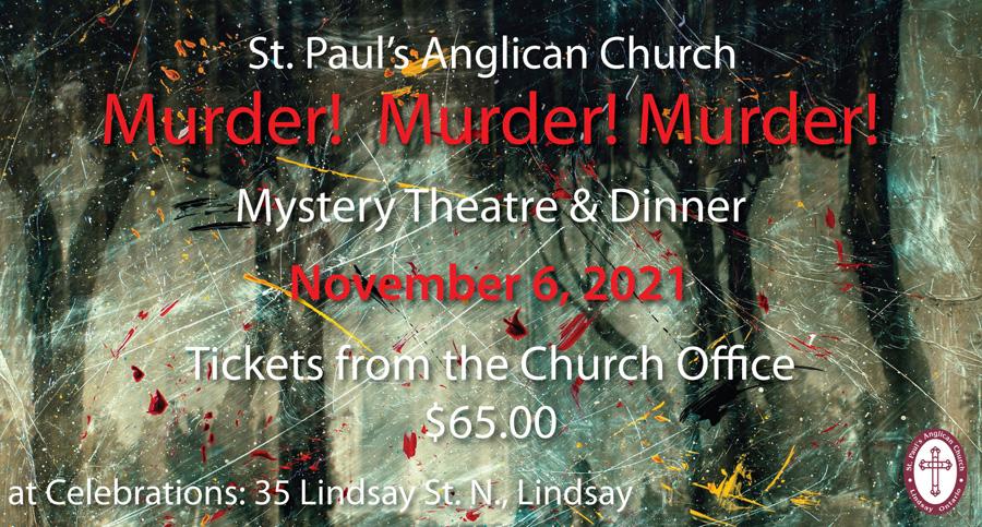 2021 Murder Mystery Dinner